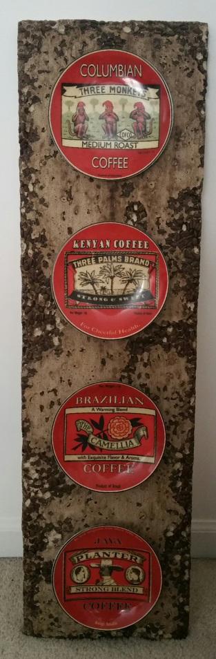 coffee bean concrete mold