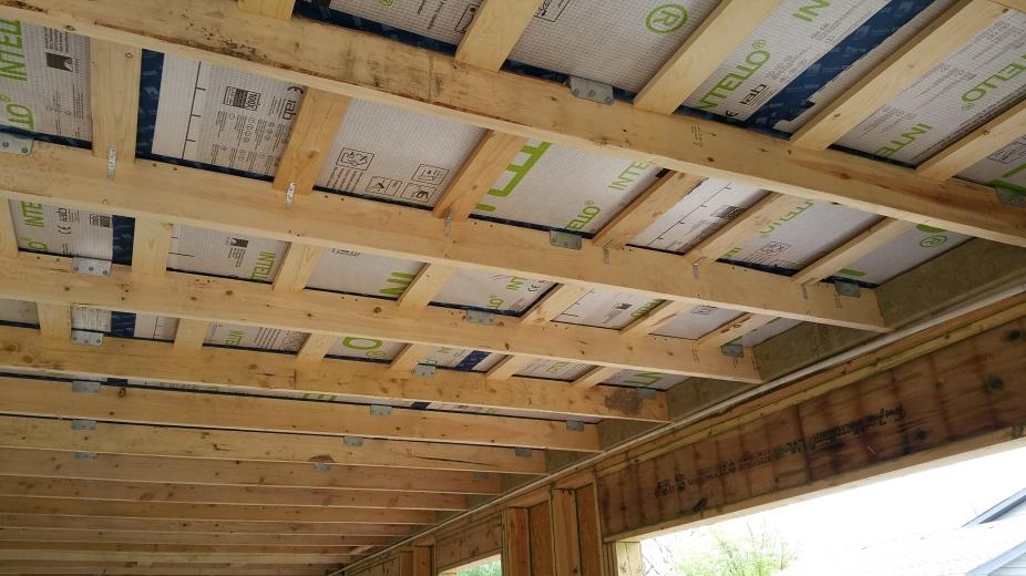 ceiling w: 1x4 battens