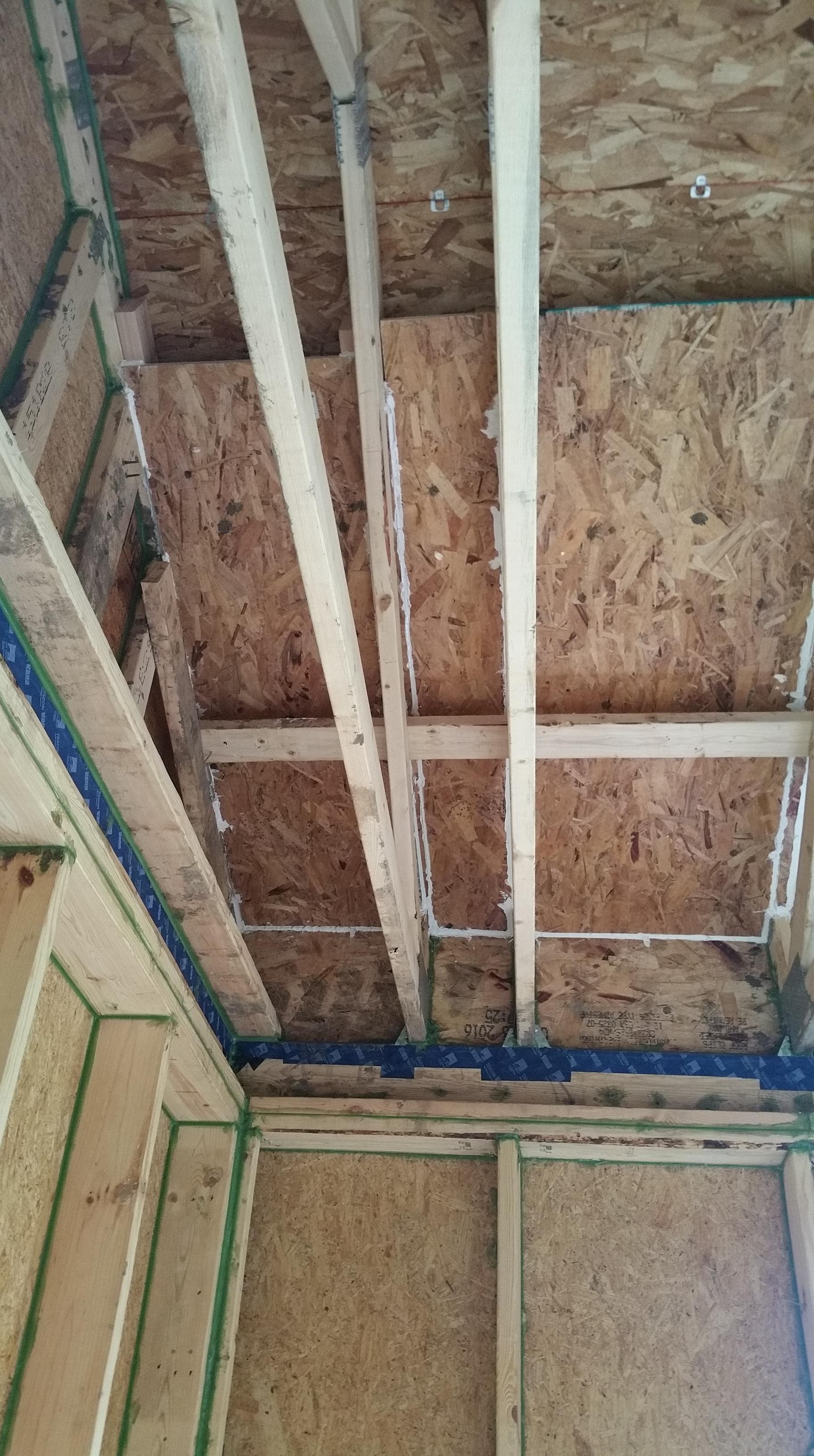 insulation chutes in corner