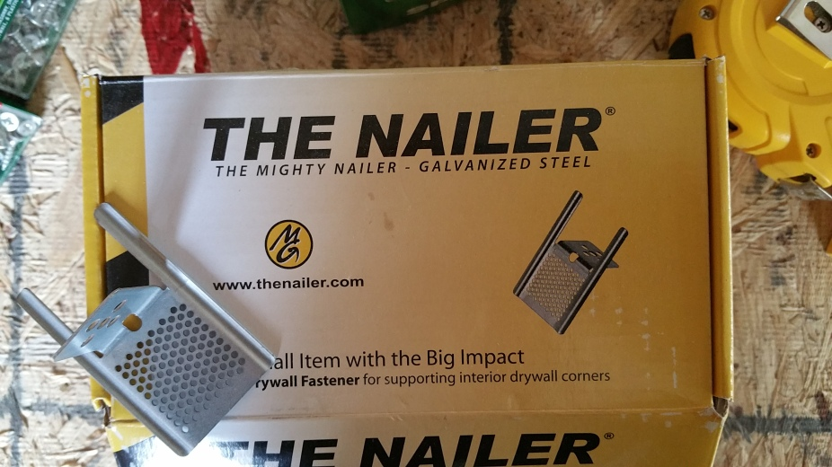 nailer for ceiling drywall