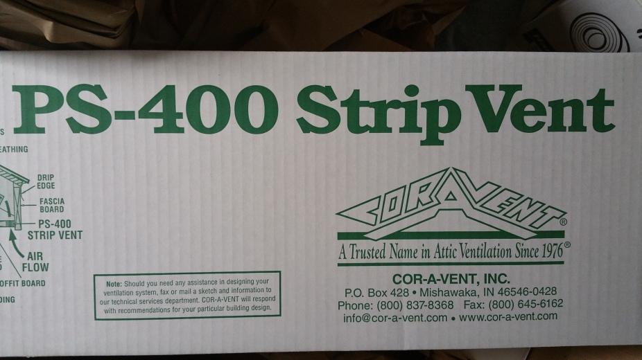 Cor-A-Vent PS-400 Box