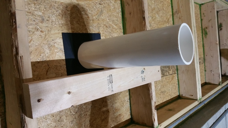 heat pump - int side - pvc, gasket, 2x4