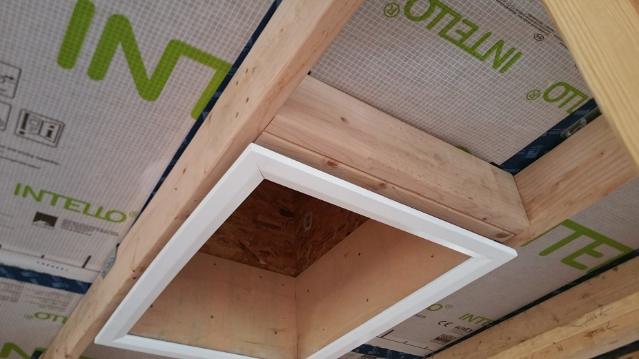 attic access from below