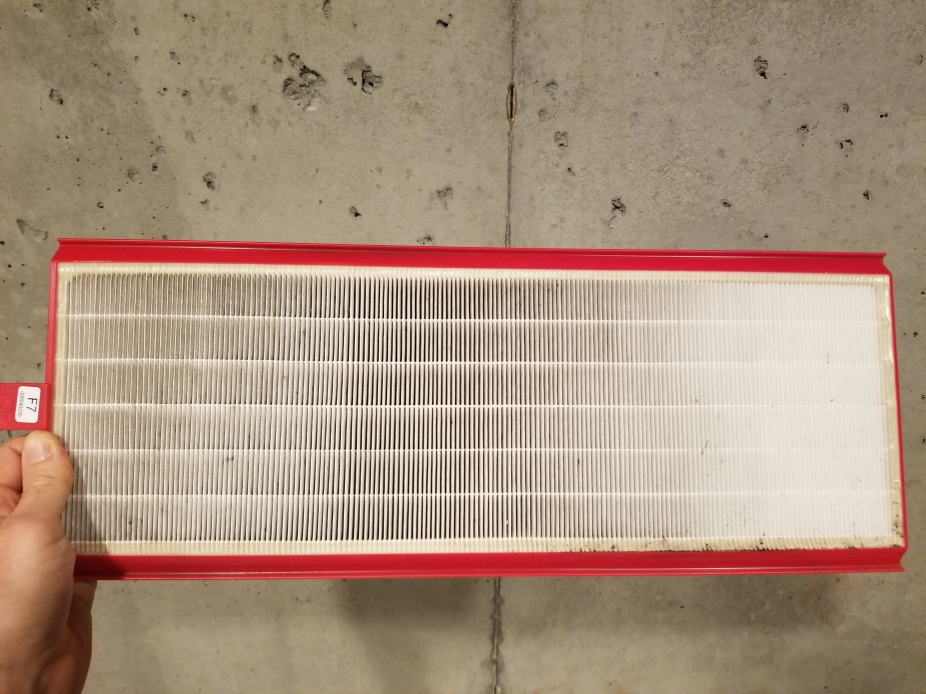 zehnder supply filter