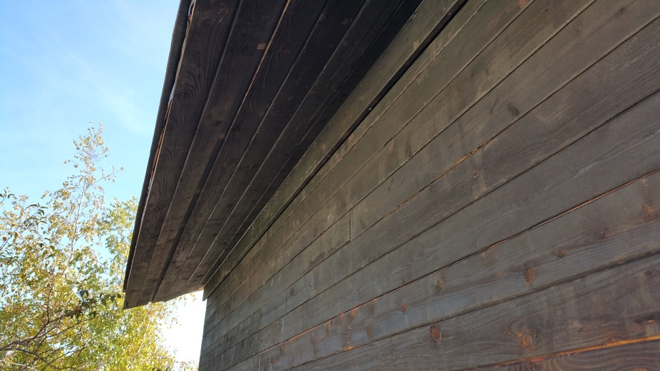 north garage sd soffit complete