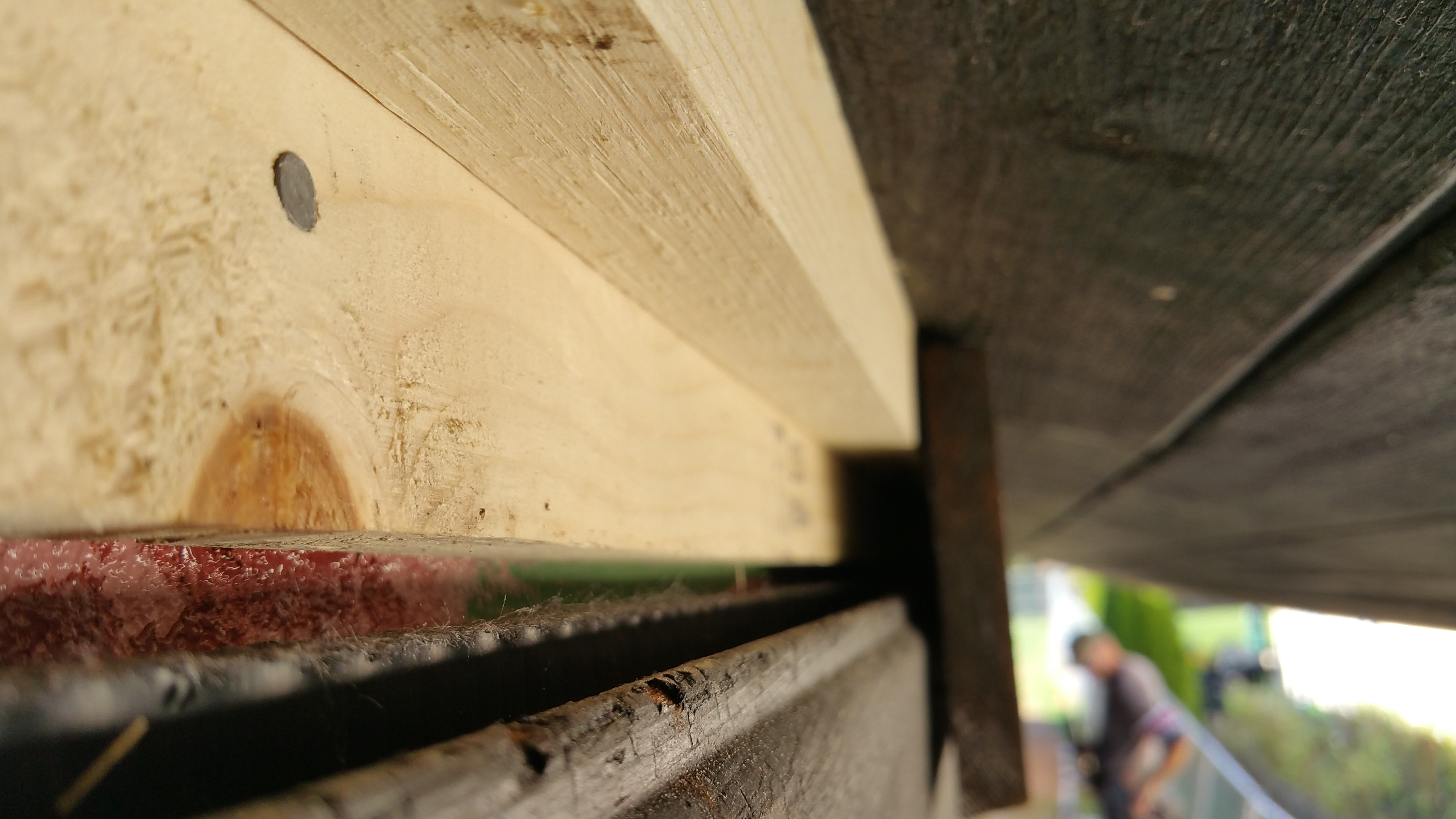 wide view garage frieze w: blocking sd
