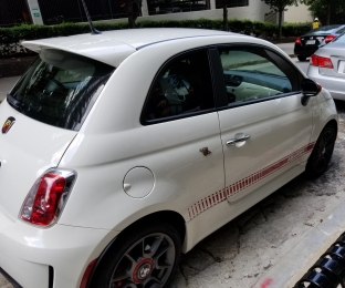 abarth full view