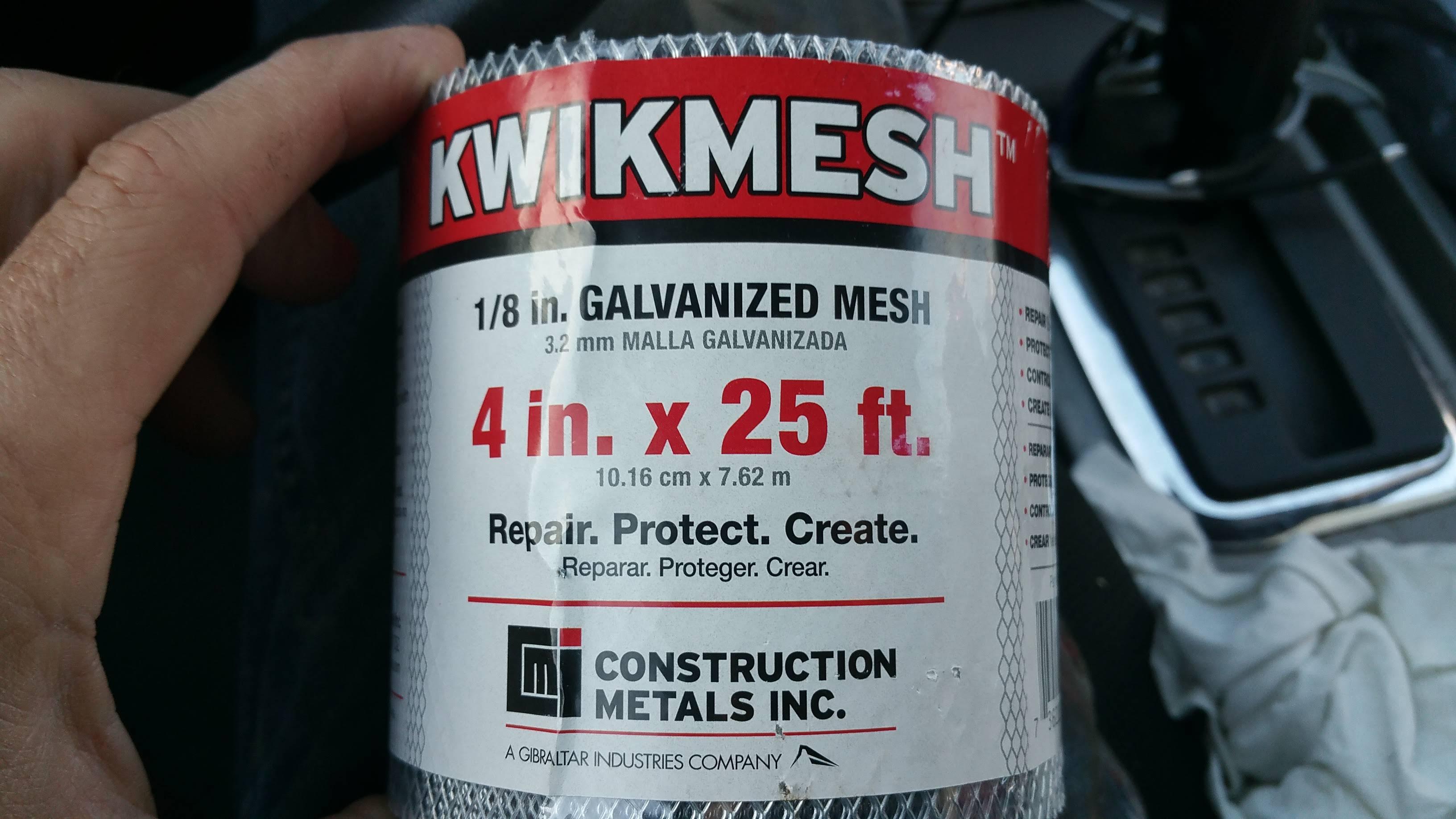 mesh for soffits