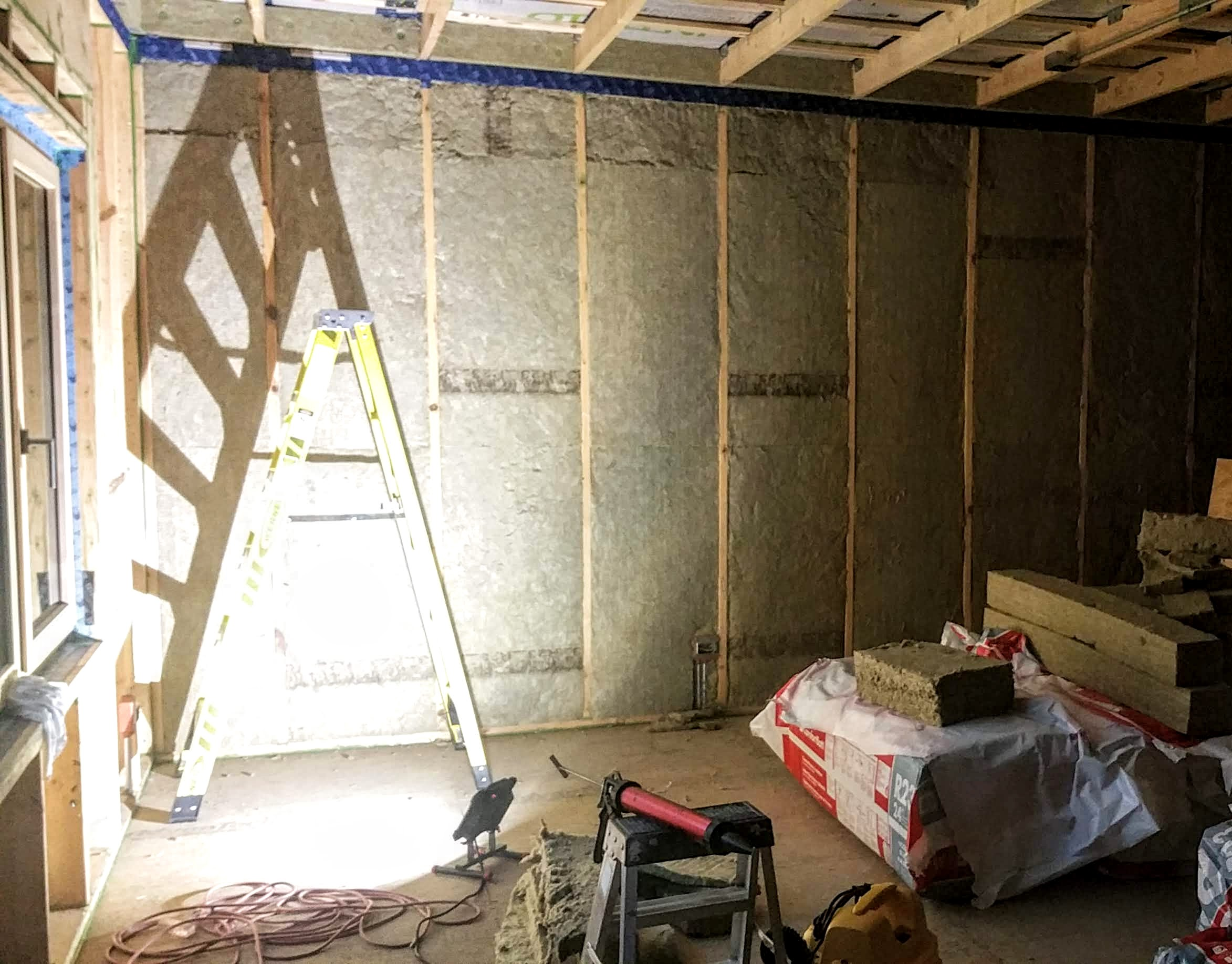 mbr w: rockwool in walls