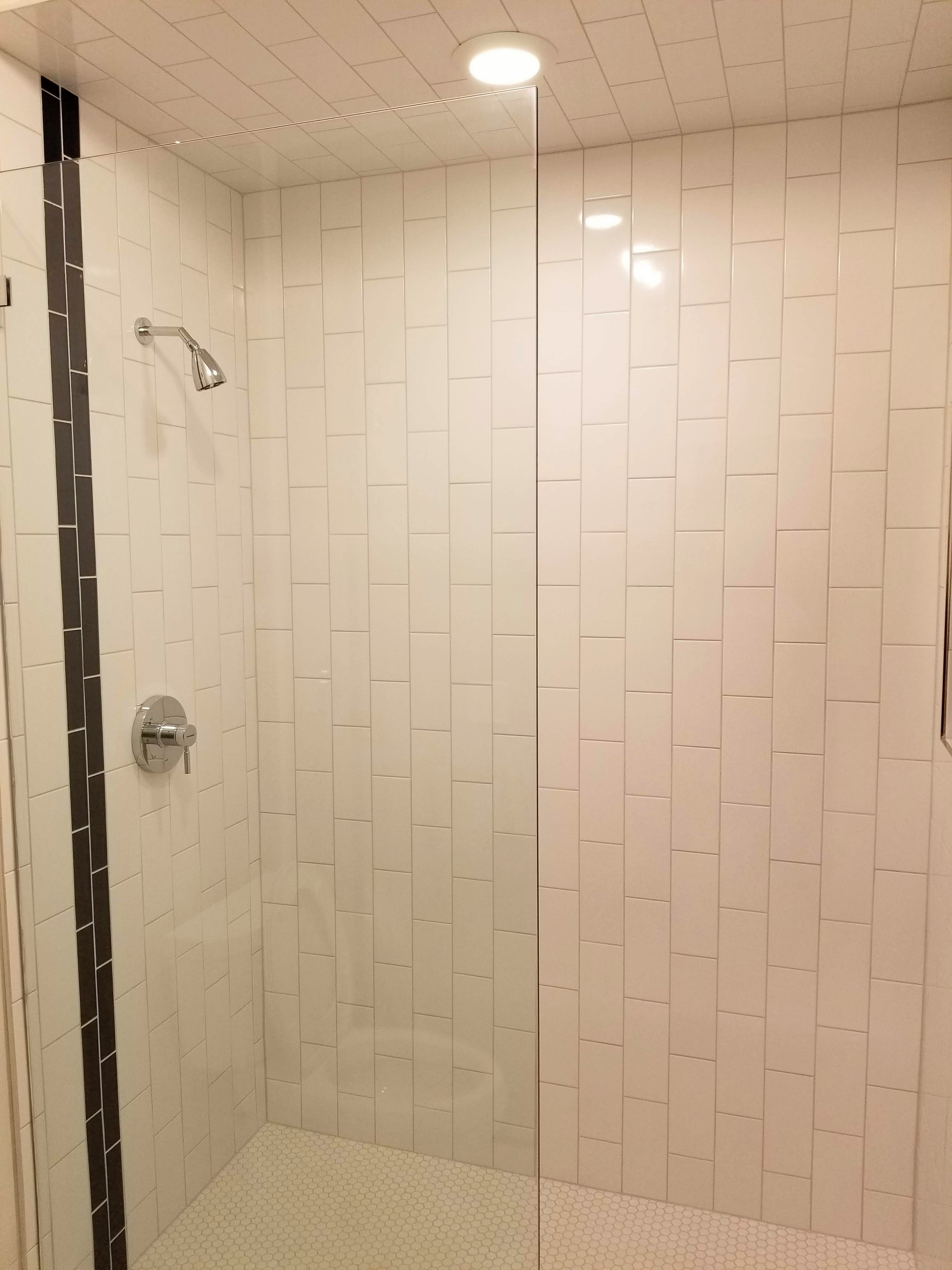 2nd shower done
