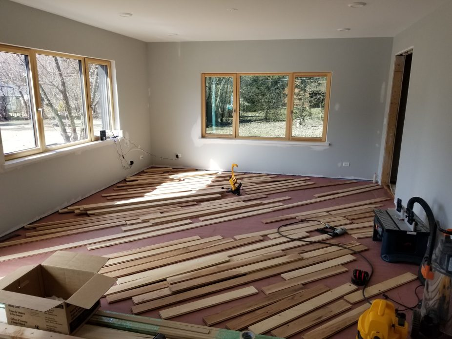 family rm wood going down