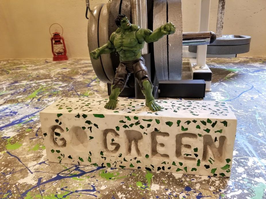 hulk go green