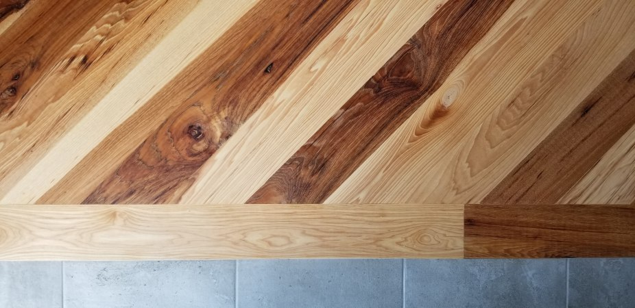 kitchen wood connection after tung