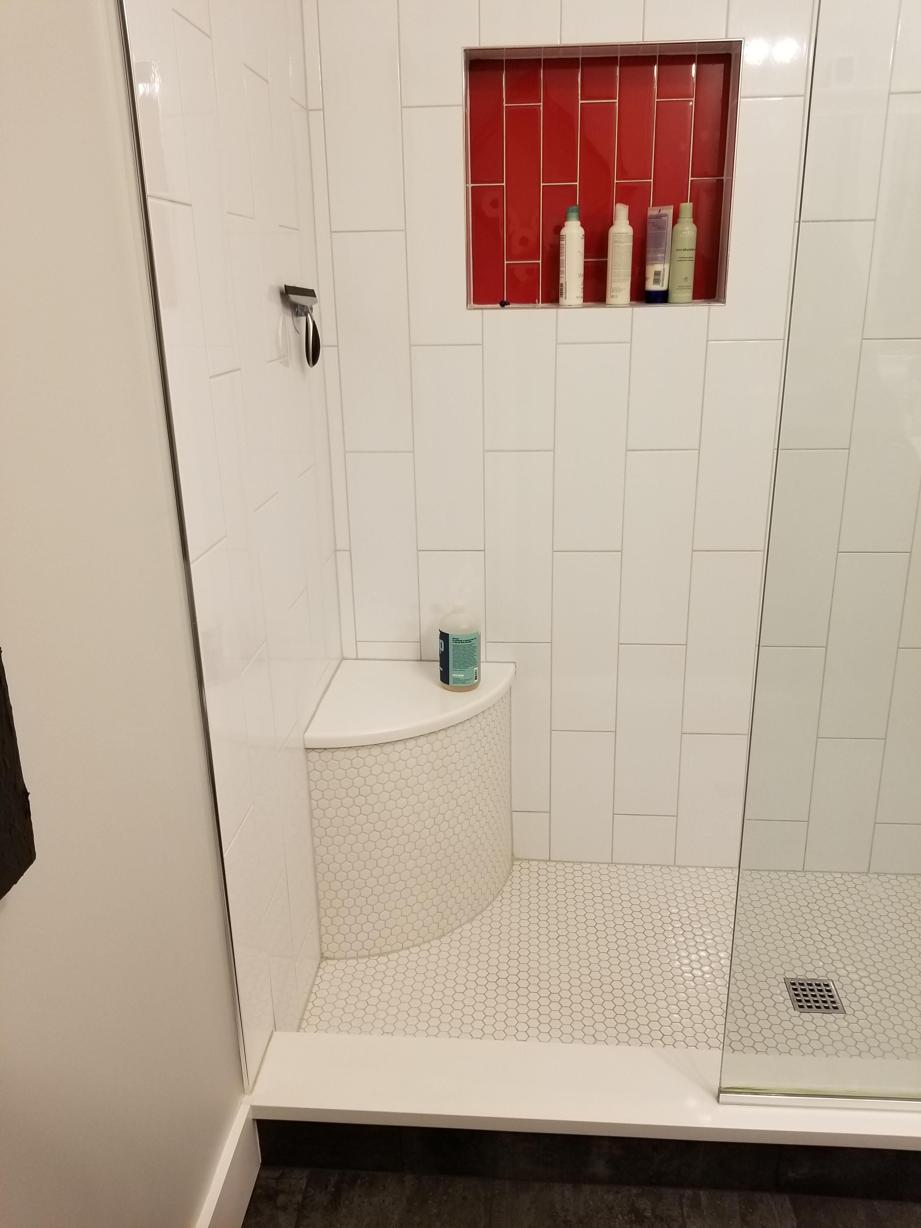 master bath niche