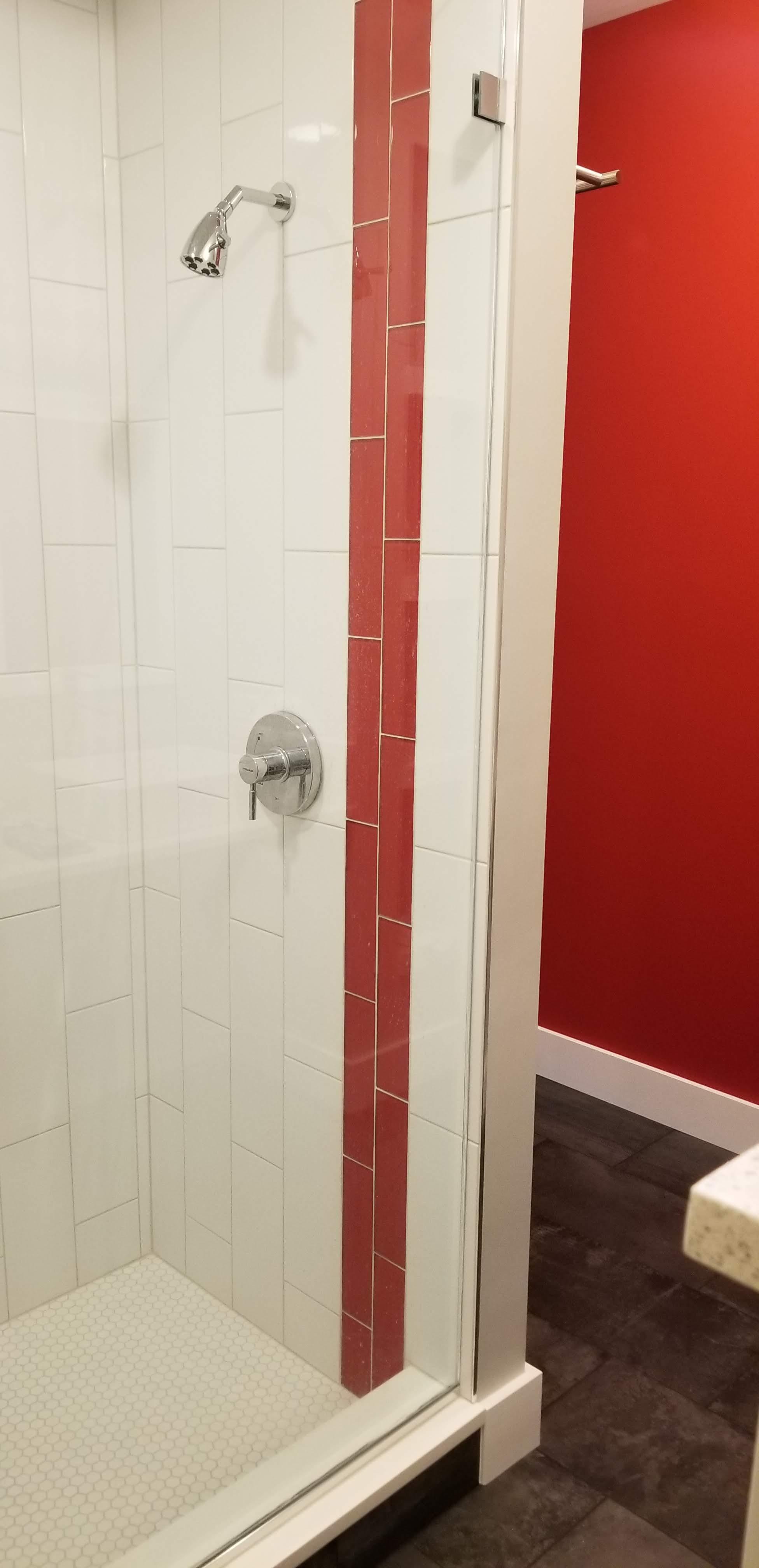 master shower done