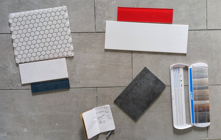 tile grout selections